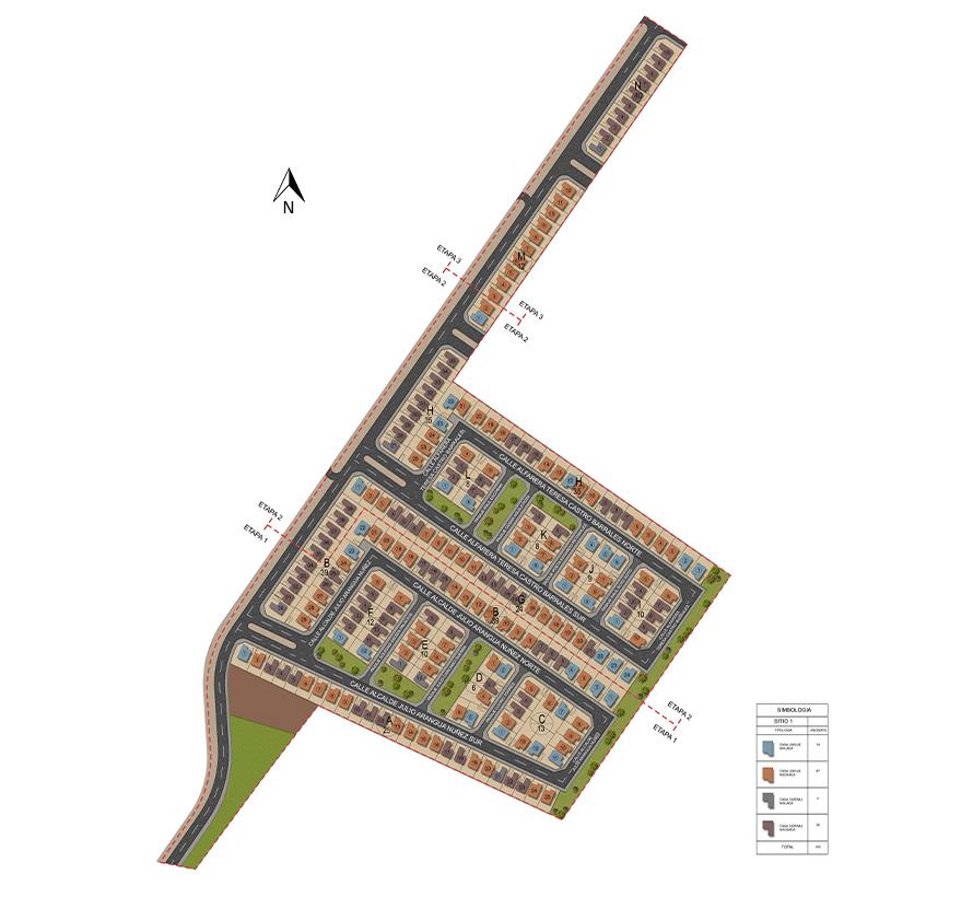 Masterplan Valles de Peñaflor