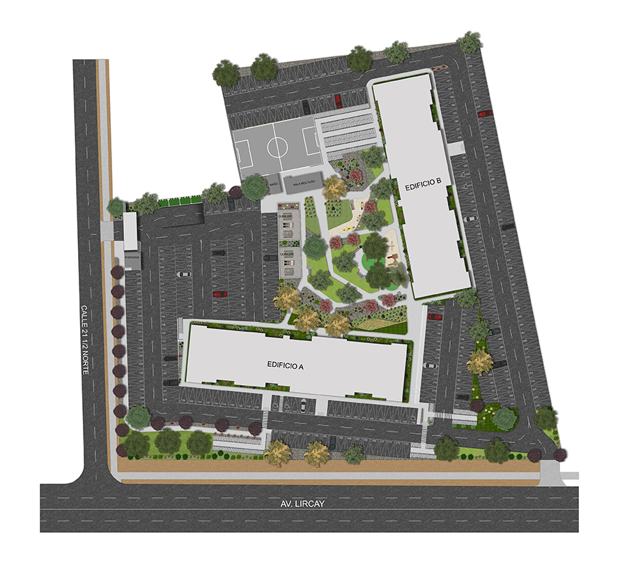 Masterplan Condominio Altos de Lircay