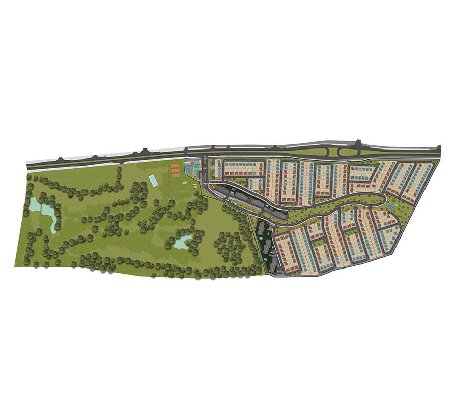 Masterplan Vista Golf Casas